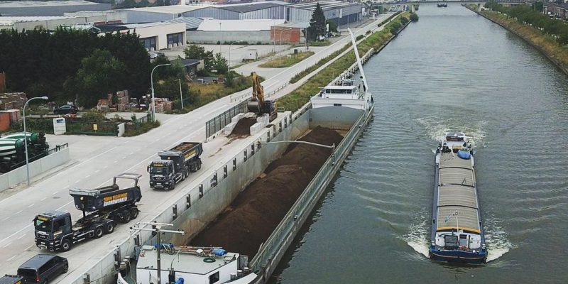transport grondstoffen over water